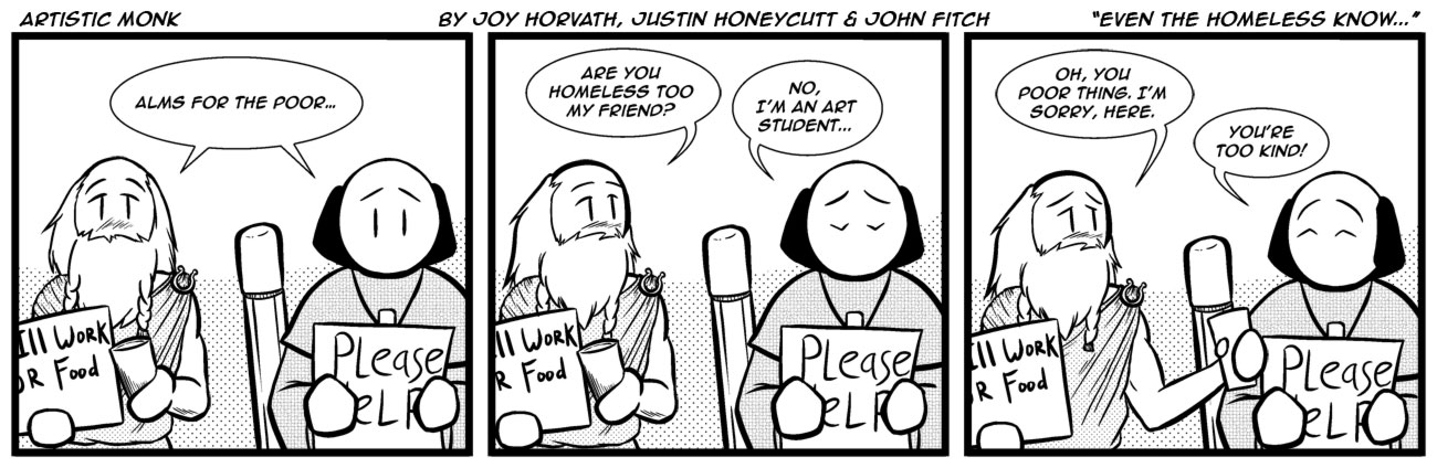 Page 32 – Even the Homeless Know...